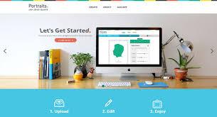 modern web design portraits aol website design inspiration layout