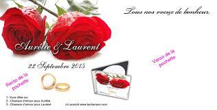 chanson mariage chanson de mariage personnalisée en mp3 ou cd ta chanson