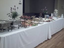 80th bd buffet table buffet catering and chocolate fountains