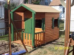 Backyard Playhouse Plans by 12 Best How To Build A Play House Plans Images On Pinterest
