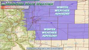 Colorado Front Range Map Freezing Rain And Fog To Impact Colorado Front Range Tonight