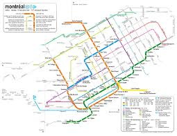 Metro Map Of Paris by Montreal Metro Getting Around Montreal By Public Transit