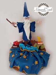 terrific merlin the wizard cake between the pages