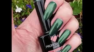297 vb line dark green metallic uv led soak off nail gel color