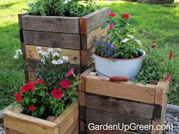 diy reclaimed wood planter boxes u2013 garden up green