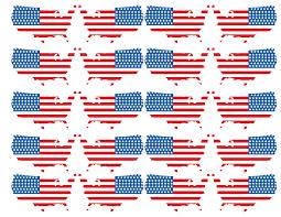 Printable Flag Usa Flag Printables July 4th Crafts Paper Trail Design
