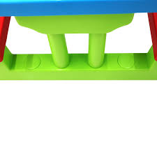 kids childrens picnic bench table set outdoor furniture 32 99