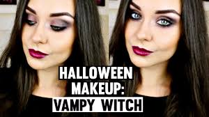 halloween makeup tutorial vampy witch katesbeautystation youtube