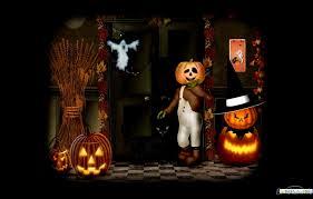 free animated halloween wallpapers wallpaperpulse