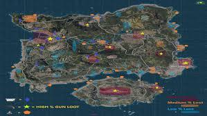 pubg erangel pubg island map of erangel loot locations android apps on google