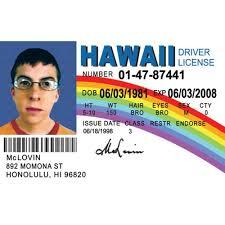 amazon com signs 4 fun nmlid mclovin id license u0027s driver u0027s