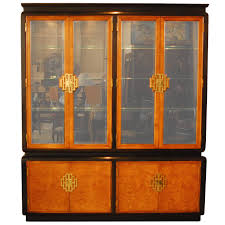 Antique Breakfront China Cabinet by Raymond Sobota Chin Hua Breakfront China Cabinet At 1stdibs