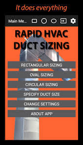 Home Hvac Design Software Rapid Hvac Duct Sizing Free Android Apps On Google Play