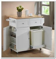 kitchen cart with garbage bin best buy