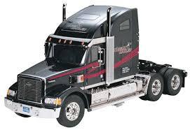 Semi Truck Interior Accessories Tamiya 1 14 Knight Hauler Semi Truck Tractor Kit Towerhobbies Com