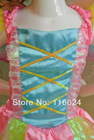 rainbow brite fairy topia party dress costumes for kids girls