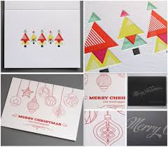 Letterpress Christmas Cards Thomas Printers