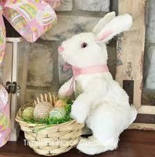 raz easter decorations pier 1 imports easter bunny with garden cart tea light holder