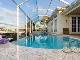 Tiki Hut Cape Coral Fl Affordable Luxury Getaway Infinity Pool U0026 Spa Oversized Dock W