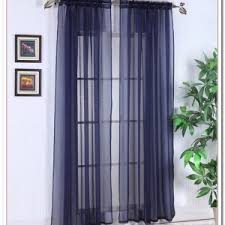 Navy Blue Sheer Curtains Navy Blue Sheer Curtains Home Design Ideas And Pictures