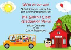 kindergarten graduation invitations digital preschool kindergarten wise owl graduation invitation