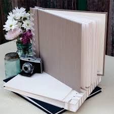 Bound Photo Albums Silk Bound Paper Page Album Black U2013 Jenni Bick Bookbinding