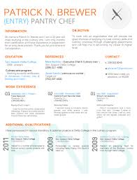 Cook Resume Samples by Culinary Resume Templates