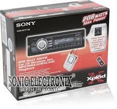 sony cdx gt71w cdxgt71w cd mp3 wma receiver with remote same