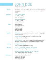 College Resume Creator by Simple Resume Builder Resume Example