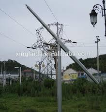 utility pole light fixtures 8meter octagonal mid hinged street light pole buy hinged street