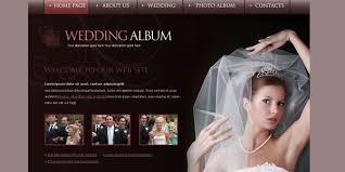 wedding photo album online 20 free wedding website templates