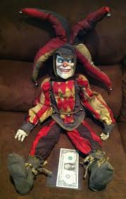 clown puppets for sale the screen used matched evil jester clown doll puppet