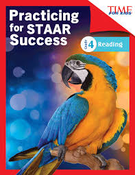 time for kids practicing for staar success reading grade 4