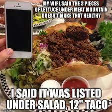 Salad Meme - why would anything labelled salad be thought of as anything but
