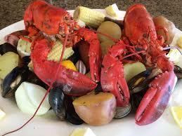 New England Backyards by New England Clam Bake In A Weber Kettle