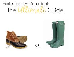 l l bean boots vs hunter boots the ultimate guide prepessentials