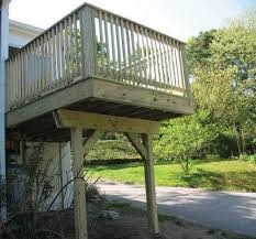 cantilevered deck hand made cantilevered deck by elm street builders custommade com