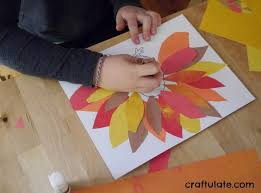 thanksgiving placemats for to make craftulate