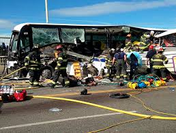 amphibious vehicle duck seattle duck boat vehicle collides with tour bus and cars kills