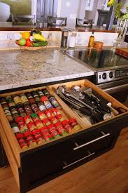 In Drawer Spice Racks 216 Best Kitchen U0026 Pantry Organization Images On Pinterest Home