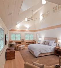 Ceiling Bookshelves by Sloped Ceiling Bookshelves Bedroom Transitional With Skylight