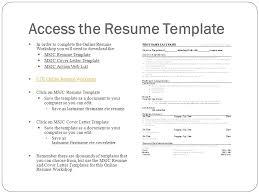 Online Resume Download by Online Resume Workshop Ppt Video Online Download