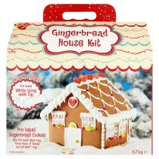 create a treat gingerbread house kit 675g asda groceries