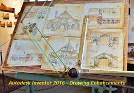 autodesk inventor 2016 drawing environment improvements design