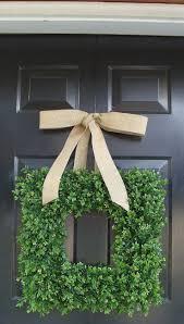 front doors beautiful artificial wreaths for front door 97