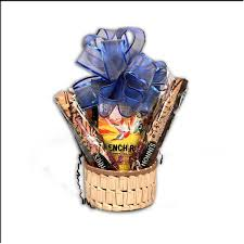 coffee baskets organic coffee gift basket with biscotti