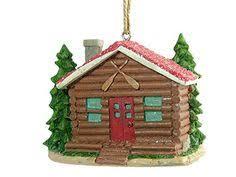 wooden log cabin ornament lodge 3 kipmik products http www