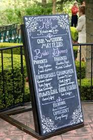 Wedding Program Chalkboard Wedding Program Chalkboard Wall Http Weddingphotography Com Ph