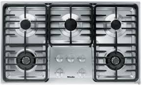 Miele 36 Induction Cooktop Miele Km3475lpss 36 Inch Stainless Steel Gas Cooktop With 5 Sealed
