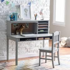 Kid Desk And Chair Guidecraft Media Desk Chair Set Espresso Hayneedle